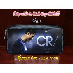Bóp viết in hình Ronaldo CR7 - BRN01