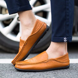 Giày lười nam ROZALO RNG8803BR- Màu nâu