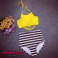 Bộ bikini cạp cao EvaBKN180