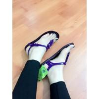 giày Sandal nu nhựa dẻo đi mưa -pl605