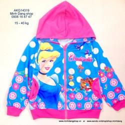 Áo khoác Thái lan hình Cinderella - công chúa lọ lem