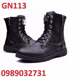 Giày bốt nam phong cách Han Quoc - GN113