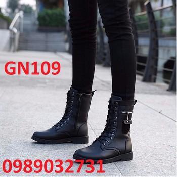 Giày Bốt Nam cao cấp Hàn Quốc - GN109
