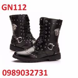 Giày Bốt Nam cao cấp Hàn Quốc - GN112