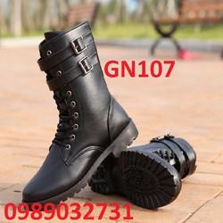 Giày boot nam phong cách hàn quốc  - GN107