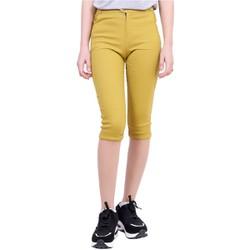 Quần Lửng Nữ Kaki Chun Co Giãn Bó Ống Skinny Jeans ZENKO CS3 001 Y
