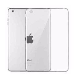 Ốp lưng iPad Mini 4 Silicon Case - Trắng trong suốt