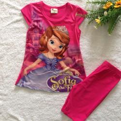 Bộ Sofia chất thun lạnh và cotton