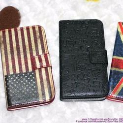 Bao da Galaxy S4 I9500 lá cờ sành điệu OL41