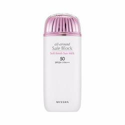 Kem chống nắng All-around Safe Block Soft Finish Sun Milk SPF50+ PA++