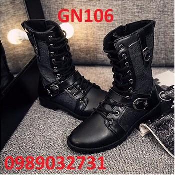 Giày Bốt Nam cao cấp Hàn Quốc - GN106