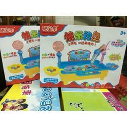 Loai 1-Bộ đồ chơi hồ câu cá có đèn led và nhạc vui nhộn cho bé