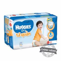 Tã-bỉm quần Huggies Dry L38