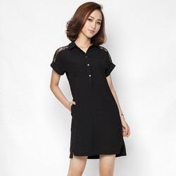 Đầm suông thiết kế tay dơi