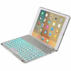 Bàn phím Bluetooth iPad Air 2 iPad 6 keyboard tích hợp LED Silver