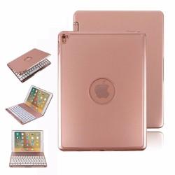 Bàn phím ốp lưng iPad Pro 9.7 Bluetooth cao cấp Phụ kiện cho bạn Hồng