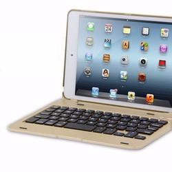 Bao da bàn phím Bluetooth ipad mini 4 Phụ kiện cho bạn Gold