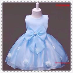 Đầm công chúa dính hoa cực yêu cho bé từ 1-8 Tuổi_CVG20834