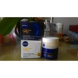 Kem dưỡng da chống nhăn và lão hóa Nivea Q10 ngày đêm