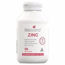 Viên nhai hình gấu bổ sung kẽm Bio Island Zinc
