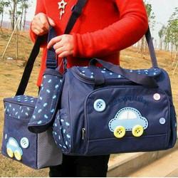 Set 3 túi đựng đồ sơ sinh cho mẹ và bé