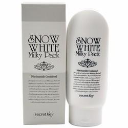 Kem Tắm Trắng Mặt Và Toàn Thân Snow white Milky Pack 200g của Hàn Quốc
