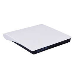 Ổ ghi đĩa DVD siêu mỏng usb 3.0 white
