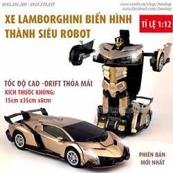 Xe Lamborghini biến hình thành Robot điều khiển từ xa - Mã số XE1606