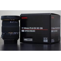 Ống kính Sigma 17~50mm f2.8 For Nikon BH 1 năm tặng 1 vòng đeo len