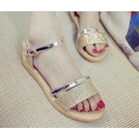 HÀNG NHẬP CAO CẤP - Giày sandal ánh kim