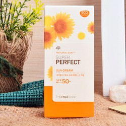 Kem chống nắng TheFaceShop Natural Sun Eco Super Perfect SPF50