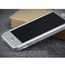 ỐP BẢO VỆ iPhone 5 TOÀN DIỆN 360 ĐỘ MÀU BẠC