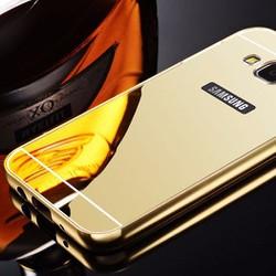 Ốp Galaxy J7 viền nhôm lưng nhựa