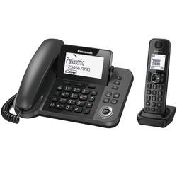 Bộ điện thoại bàn không dây máy mẹ, máy con Panasonic KX-TGF310