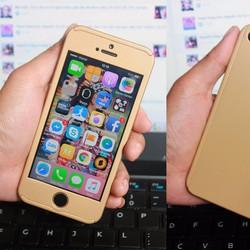 ỐP BẢO VỆ iPhone 5 TOÀN DIỆN 360 ĐỘ MÀU VÀNG