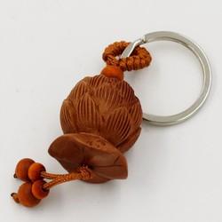 Móc chìa khóa phong thủy hoa sen