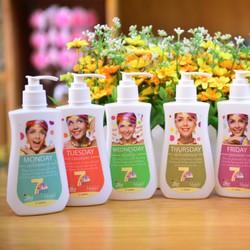 Bộ sữa tắm 7days Ans - 7 ngày 7 phong cách - 7 mùi hương