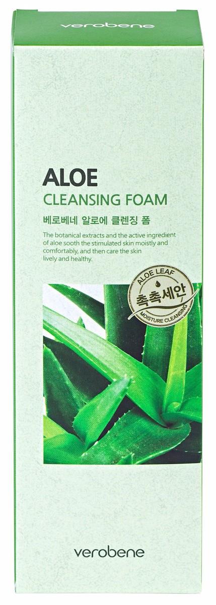 Sữa rửa mặt lô hội - Verobene Aloe Cleansing Foam 1