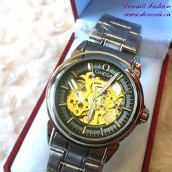 Đồng hồ cơ inox Ome cổ máy thời gian huyền bí DHDT137
