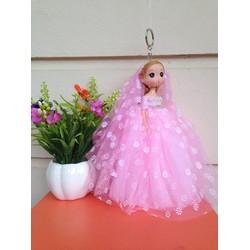 Búp bê cô dâu váy hoa