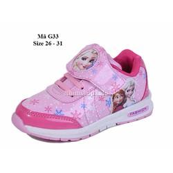 Giày thể thao công chú Elsa 3 - 5 tuổi G33