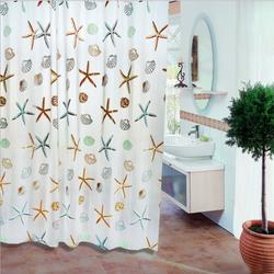 Rèm nhà tắm PEVA dài 2m không thấm nước, kèm vòng treo