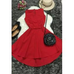 Đầm đỏ đuôi tôm