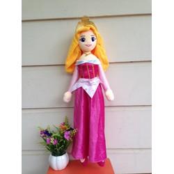 Búp bê công chúa ngủ trong rừng bằng bông váy đỏ