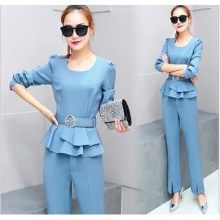 Set áo và quần dài suông thời trang - B082204 - B082204 thumbnail
