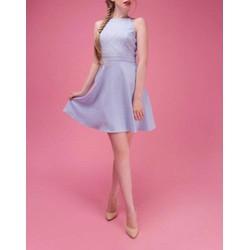 Đầm xòe cổ yếm thiết kế