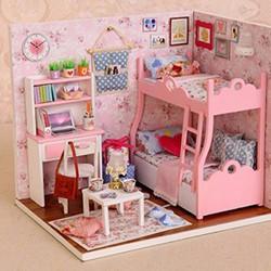 Mô hình nhà gỗ Kute Room cho bé
