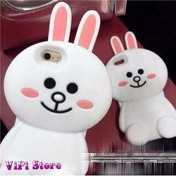 Ốp Thỏ Trắng iPhone 6 Cực Xinh