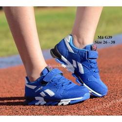 Giày trẻ em xuất khẩu cho bé trai 3 - 12 tuổi G39