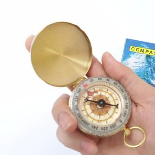 La bàn nhôm hàng hải dạ quang - Vàng kim - CPA01 thumbnail